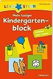 LERNSTERN Mein lustiger Kindergartenblock Spielen und Lernen: Spielen und...