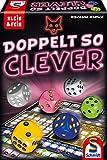 Schmidt Spiele 49357 Doppelt so clever, Würfelspiel aus der Serie Klein &...