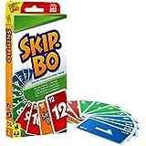 Mattel Games 52370 Skip-Bo Kartenspiel und Familienspiel geeignet für 2 -...