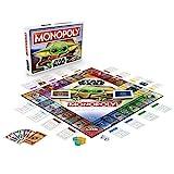 Monopoly: Star Wars Das Kind Edition, Brettspiel für Familien und Kinder...