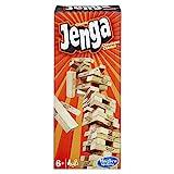 Hasbro - Jenga Classic, Kinderspiel das die Reaktionsgeschwindigkeit...