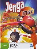 Hasbro Jenga max - Das verzwickt-verdrehte Klotzen bis der Turm abstürzt