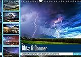 Blitz & DonnerAT-Version (Wandkalender 2021 DIN A3 quer)