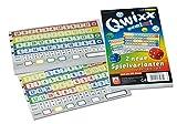 NSV - 4033 - QWIXX - gemixxt - Zusatzblöcke 2er Set - Würfelspiel