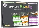 Gesellschaftsspiel - Stadt, Land, Family - Das fairste Familienspiel Aller...