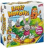 Ravensburger Kinderspiel 21556 - Lotti Karotti - Spiel für Kinder ab 4...