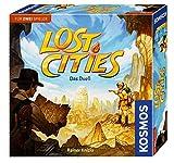 KOSMOS 694135 Lost Cities - Das Duell, spannendes Brettspiel,...