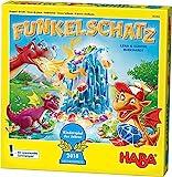 Haba 303402 - Funkelschatz Brettspiel, lustiges Mitbringspiel für 2-4...