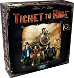 Days of Wonder 861720 - Ticket To Ride (10th Anniversary Edition)