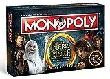 Herr der Ringe Monopoly Deutsch - 6 Sammler Spielfiguren |...