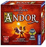 Kosmos 691745 - Die Legenden von Andor, Das Grundspiel, Kennerspiel des...