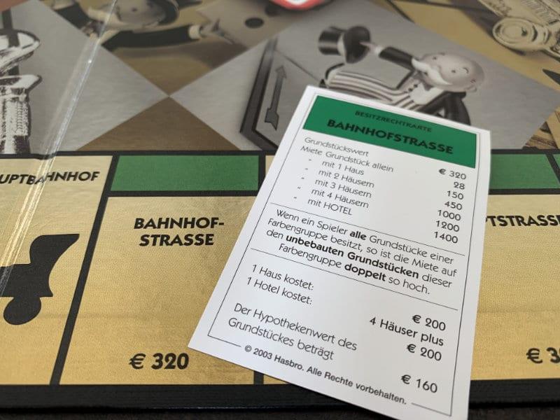 Monopoly Classic Geldverteilung