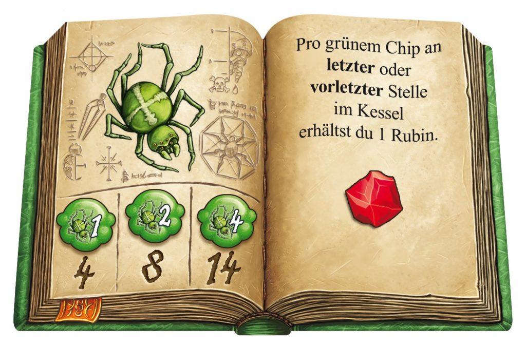 Die Quacksalber von Quedlingburg: Zutatenbücher