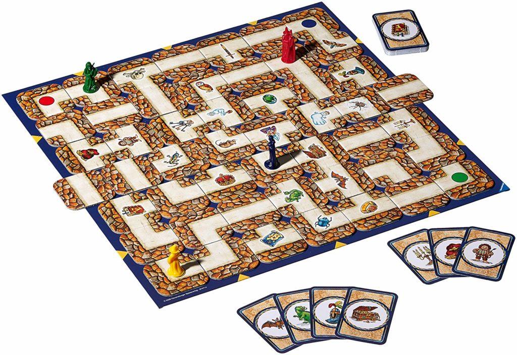 Spielanleitung Das Verrückte Labyrinth