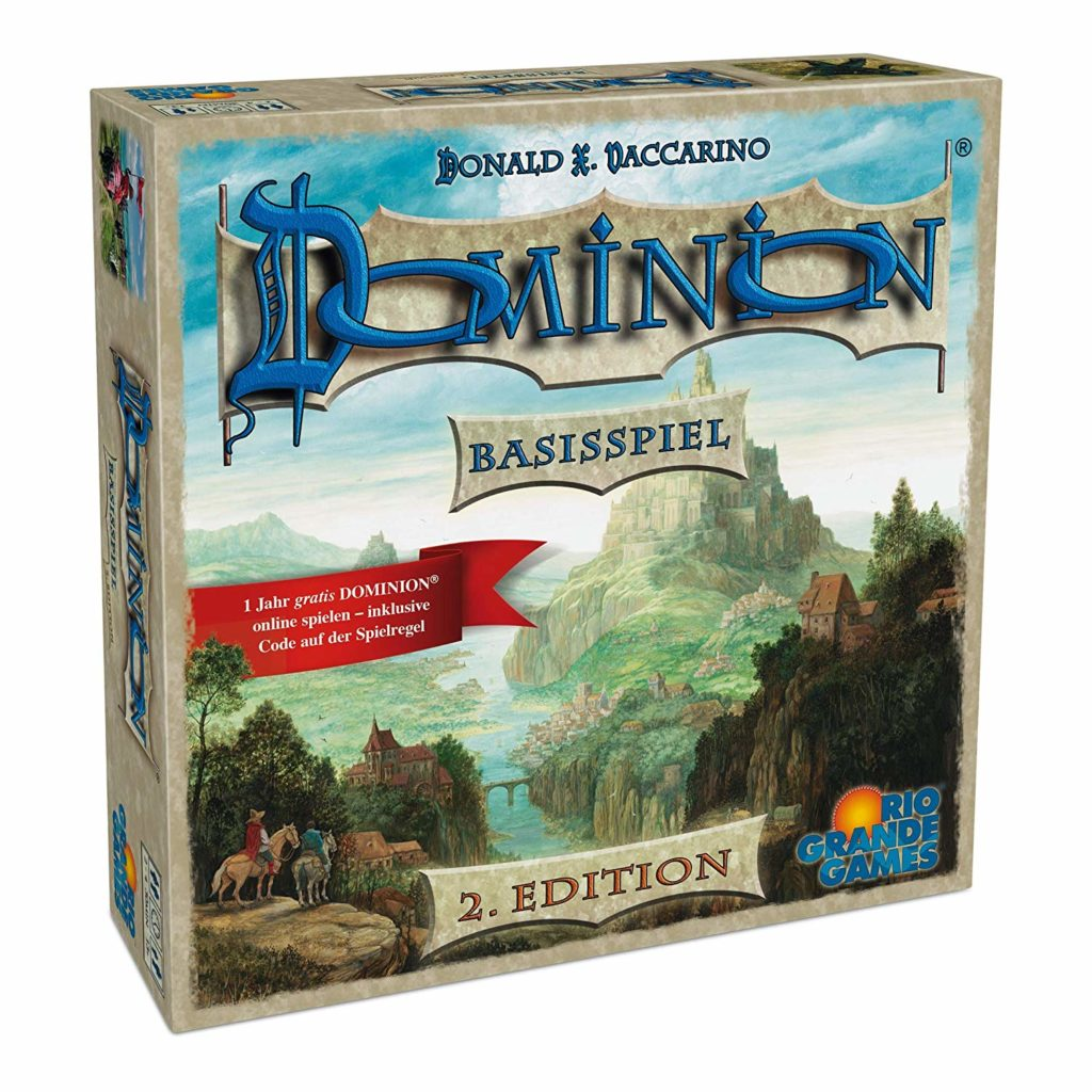 Dominion Spieleverpackung
