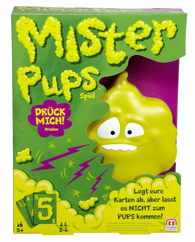 Mister Pups Spielverpackung
