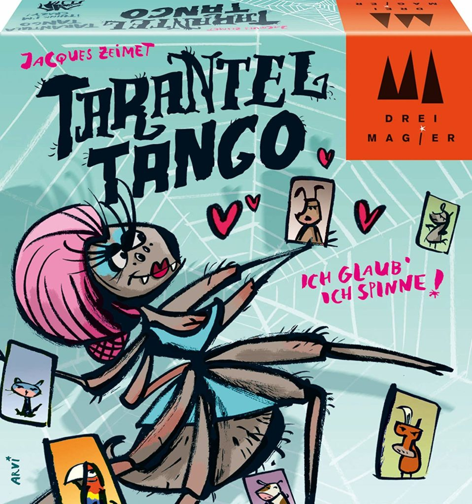 Tarantel Tango Spielverpackung