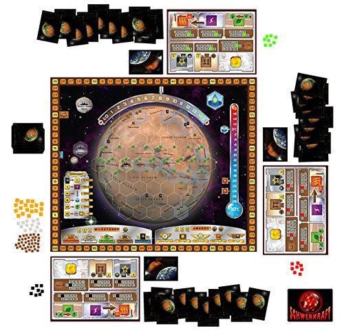 Terraforming Mars: Spielinhalt und Spielaufbau