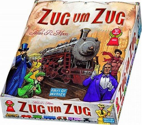 Zug um Zug Spielverpackung