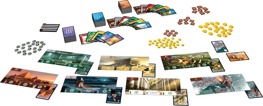 Spielinhalt von 7 Wonders