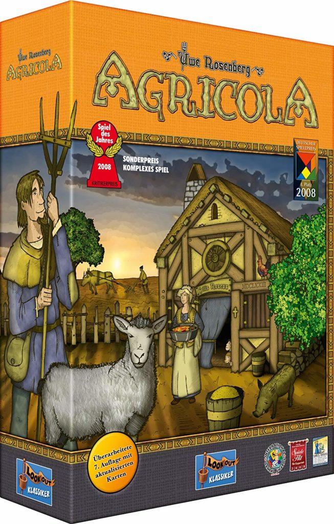 Agricola Spielverpackung