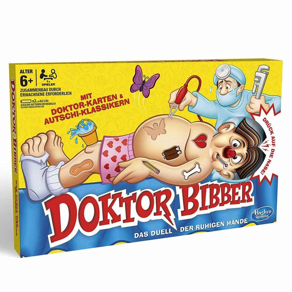 Spielverpackung von Doktor Bibber