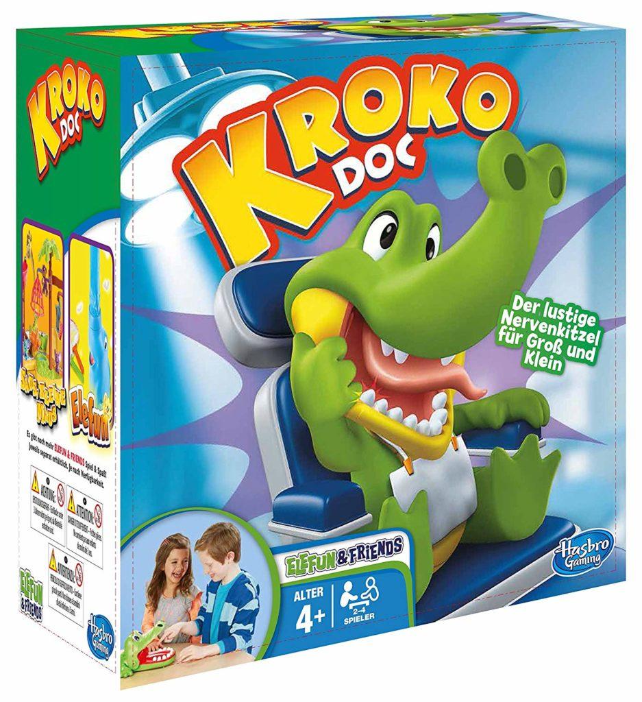 Kroko Doc Spieleverpackung