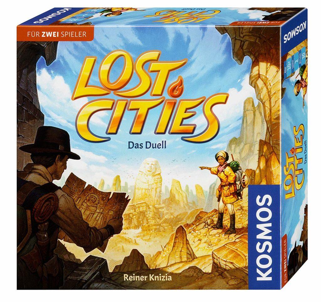 Lost Cities Spielverpackung