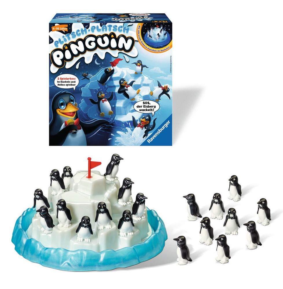 Spielinhalt von Plitsch Platsch Pinguin