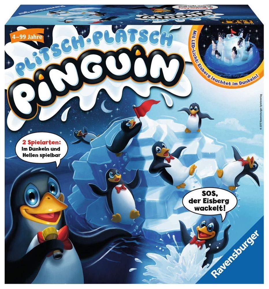 Plitsch Platsch Pinguin Spielverpackung