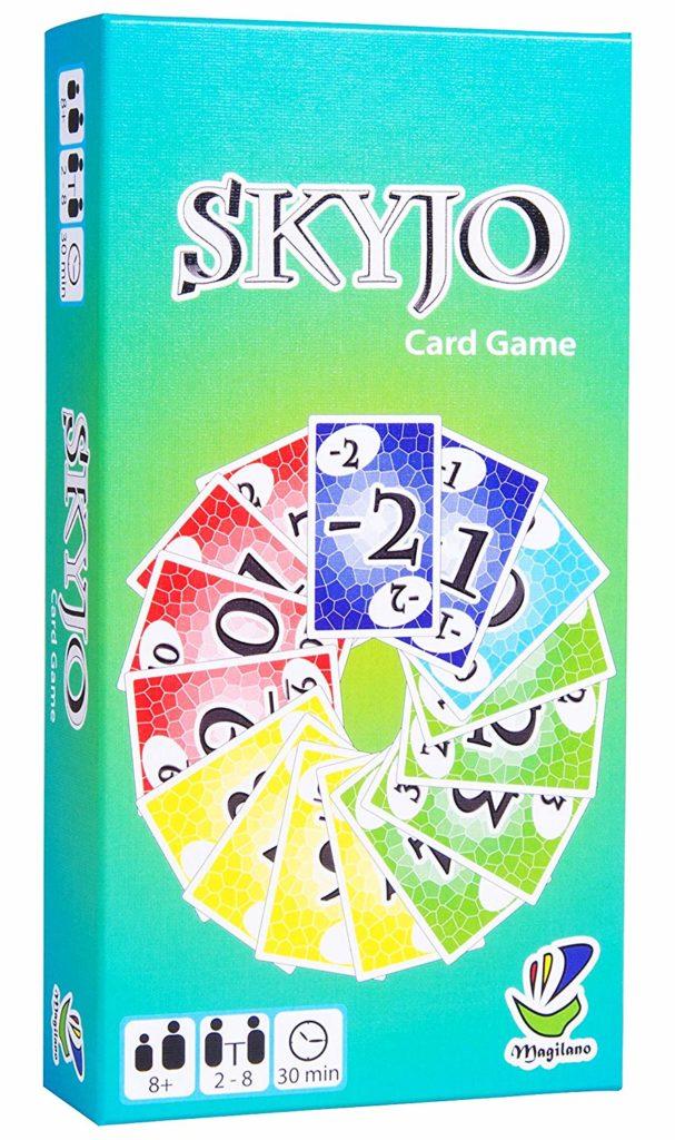 Skyjo Spielverpackung