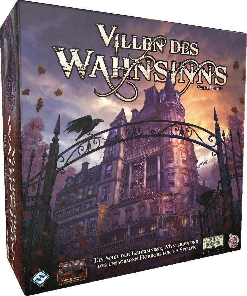 Spieleverpackung von Villen des Wahnsinns (2. Edition)