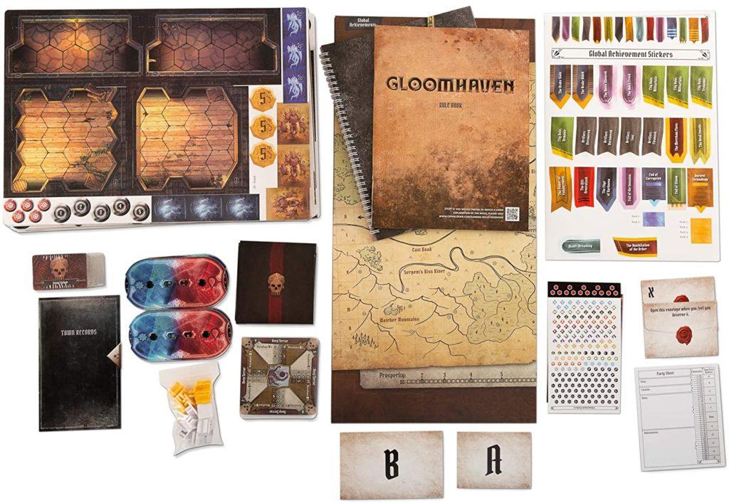Spielinhalt von Gloomhaven