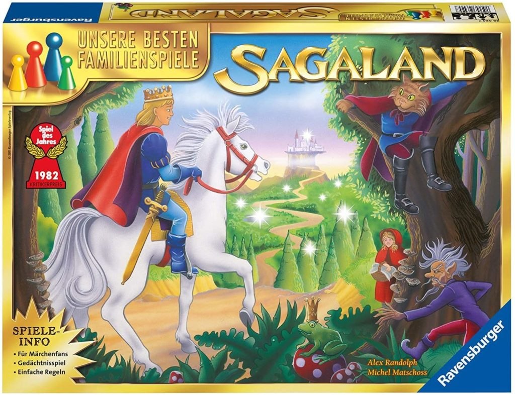 Sagaland Spielverpackung