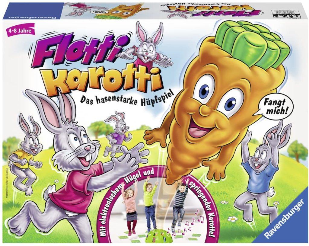 Spielverpackung von Flotti Karotti