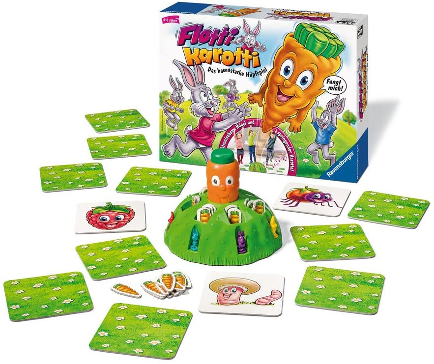Spielinhalt von Flotti Karotti