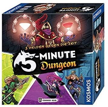 Spielverpackung von 5 Minute Dungeon