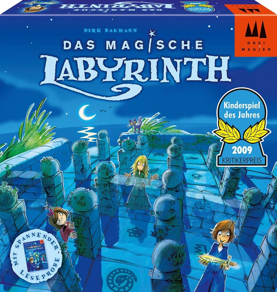Spielverpackung von Das magische Labyrinth