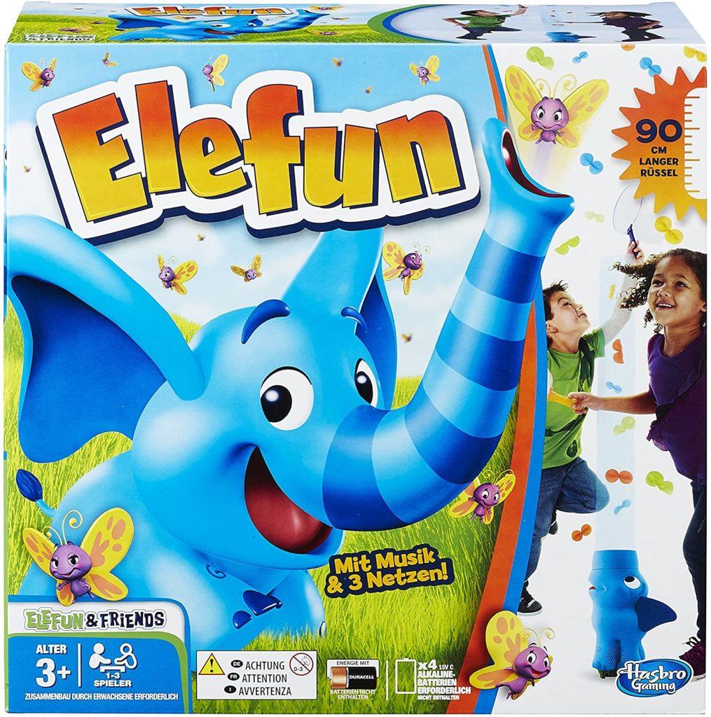 Spielverpackung von Elefun