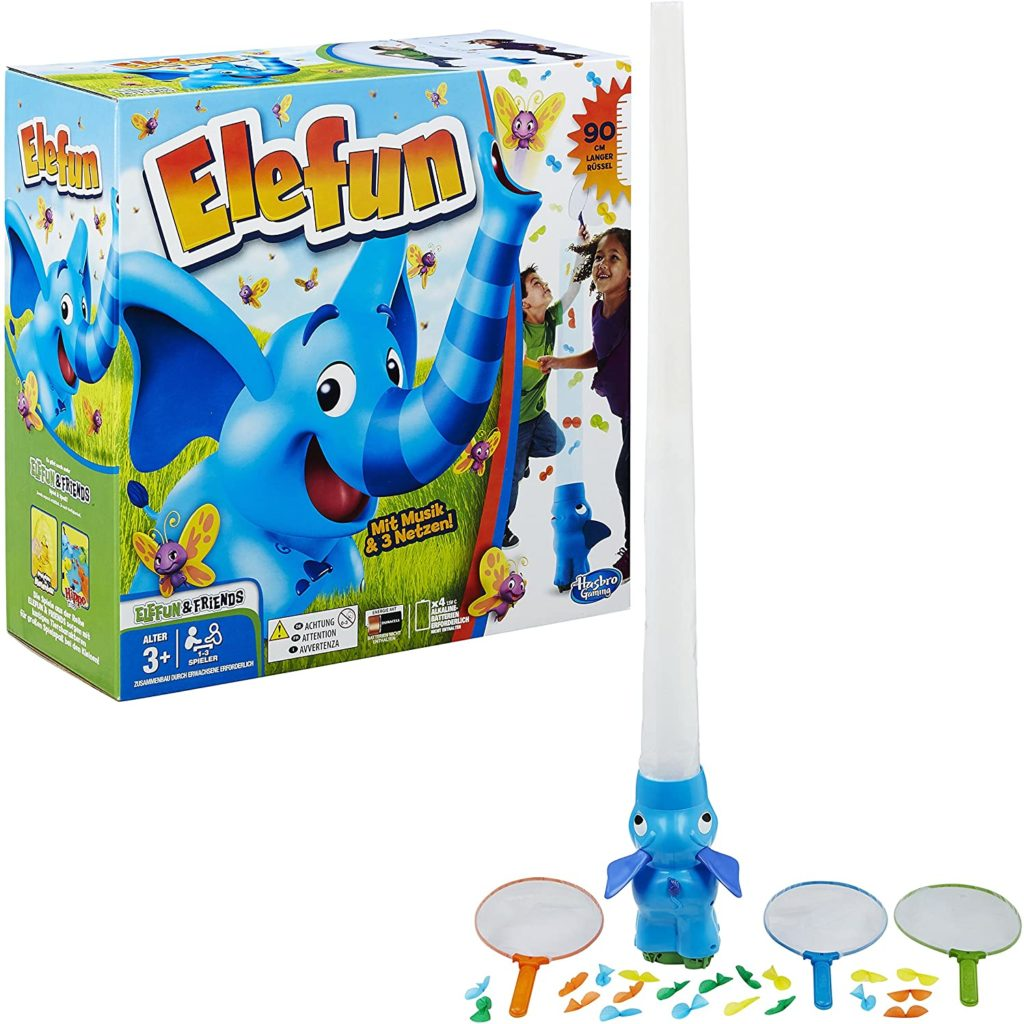Spielinhalt von Elefun