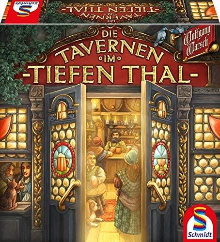 """Spielverpackung von """"Die Tavernen im Tiefen Thal"""""""