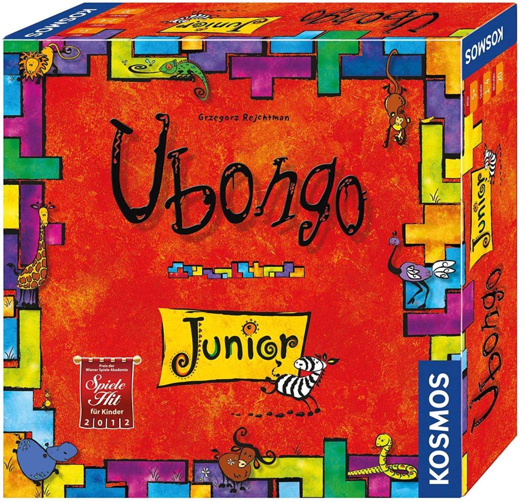 Spielverpackung von Ubongo Junior