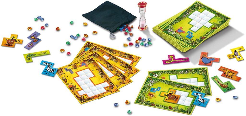 Spielinhalt von Ubongo Junior