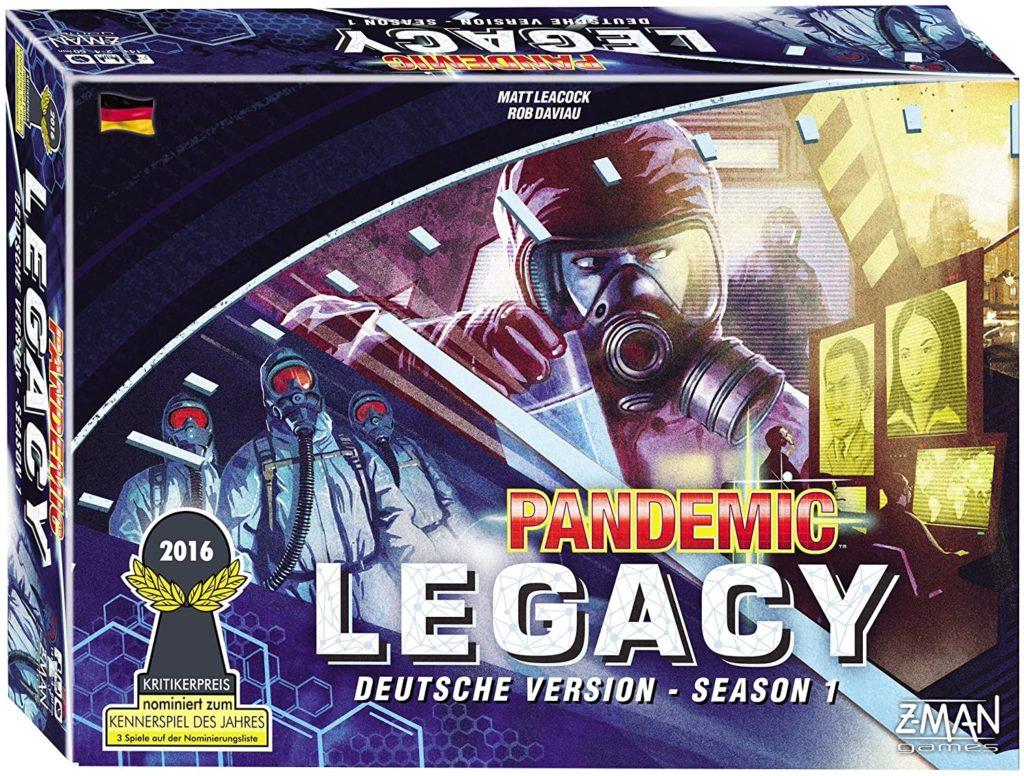 Pandemic Legacy Spielverpackung