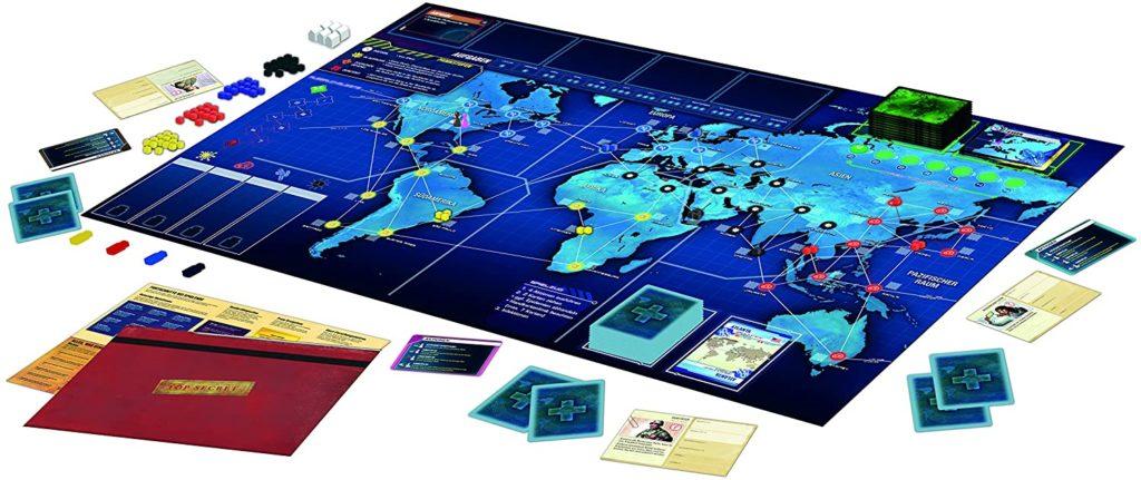Spielinhalt von Pandemic Legacy