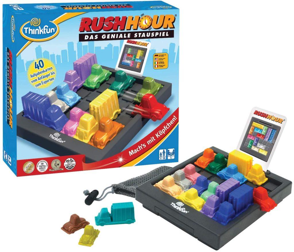 Rush Hour Spielverpackung und Inhalt