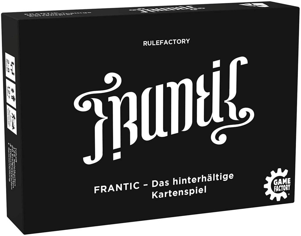 Frantic Spielverpackung