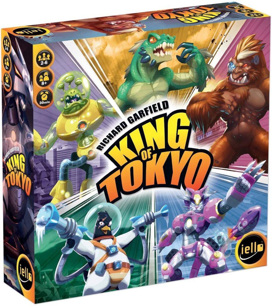 King of Tokyo Spielverpackung