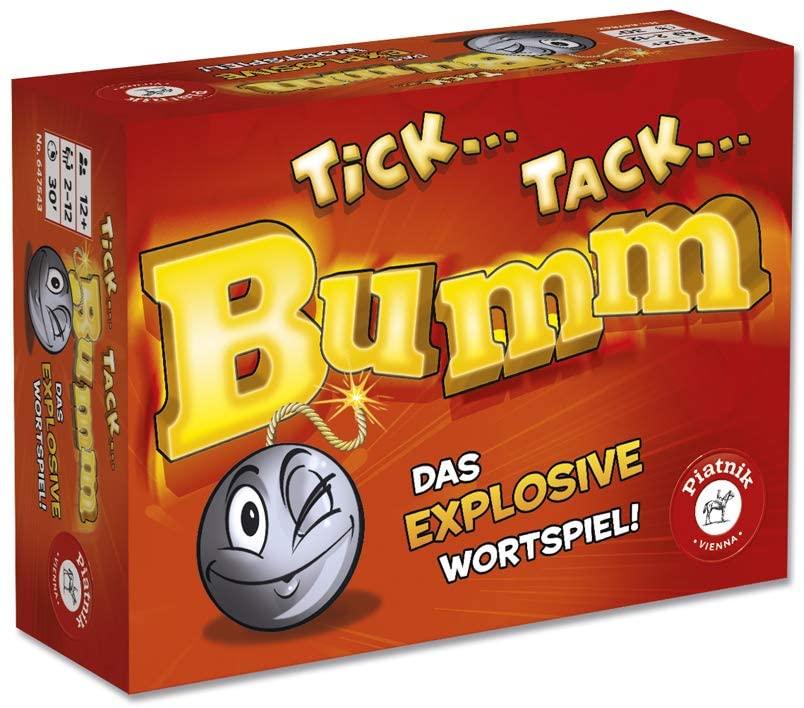 Spielverpackung von Tick Tack Bumm (Piatnik)